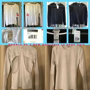 3 New Long Sleeve tops XS/S